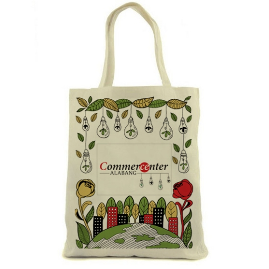 Eco-themed bag design for Commercenter Alabang, 2017