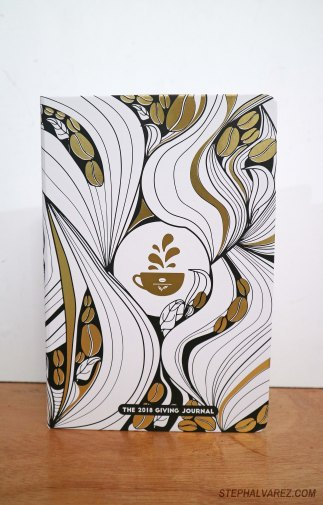 The Coffee Bean and Tea Leaf Philippines 2018 Giving Journal (cover only), 2017